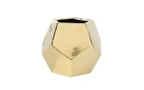 Vase Lennox in gold, 17 cm