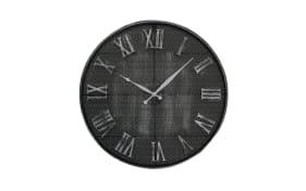 Wanduhr Bombay in grau, 57 cm