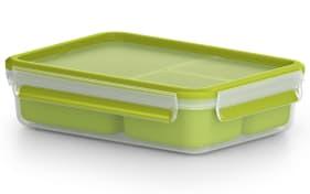 Snackbox Clip & Go in hellgrün, 1,2 l