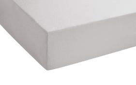 Boxspring-Spannbetttuch in schlamm, 90 x 190 x 25 cm