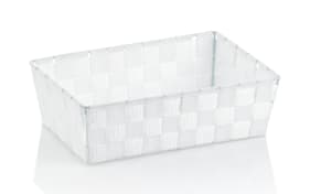 Aufbewahrungskorb Alvaro in weiß