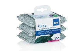 Glänzerkissen Pulito, 3-teilig