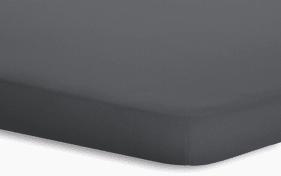 Topperspannbetttuch Jersey-Elasthan in titan, 180 x 200 x 5 cm