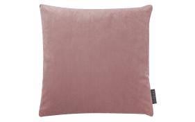 Kissenhülle Samt uni in rose, 50 x 50 cm