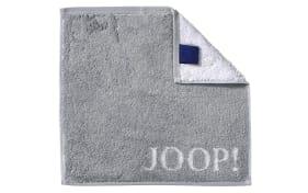 Seifenlappen Joop! Classic Doubleface in silber, 30 x 30 cm