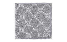 Seifenlappen Joop! Classic Cornflower in silber, 30 x 30 cm