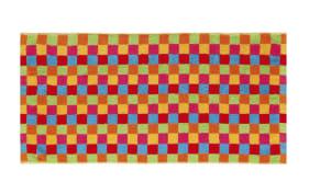 Gästetuch Lifestyle Karo in multicolor, 30 x 50 cm