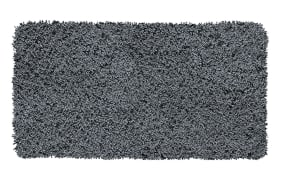 Badteppich Trend in schiefer, 55 x 65 cm