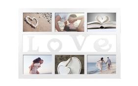 Collagerahmen  mit Motiv: Love, 10 x 15 cm