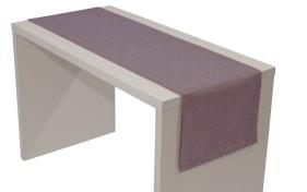 Tischläufer Loft in altrosa, 40 x 150 cm