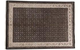 Teppich Begum Maharani Fein in schwarz, 170 x 240 cm