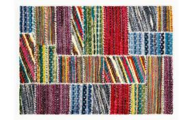 Teppich Sixteen Field in multicolor, 65 x 130 cm