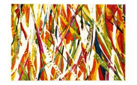 Teppich Zelos Taco in multicolor, 65 x 130 cm