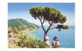 Fußmatte mit Küsten-Motiv, 50 x 70 cm