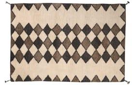 Teppich Beni in beige, 140 x 200 cm