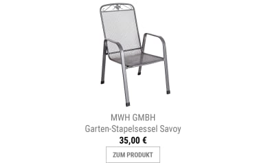 Garten-Stapelsessel Savoy