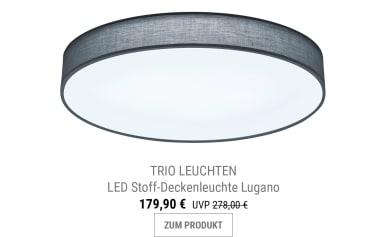 LED-Deckenleuchte Lugano