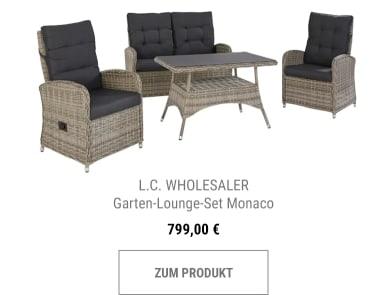 Garten-Lounge-Set Monaco
