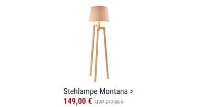 Stehlampe Montana