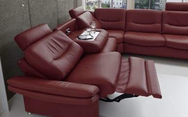 2,5-Sitzer SF1520 in Vivre brombeer, mit WallAway-Funktion