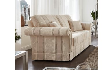 3-Sitzer Imperial in beige