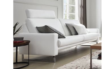 Sofa 4001 groß in cream white
