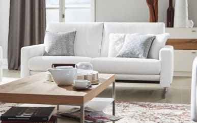 Sofa groß 4001 in cream white