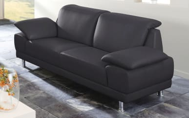 2,5-Sitzer Chiara in schwarz