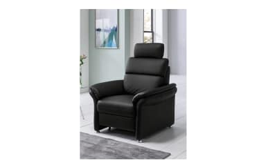 Sessel Mandala in schwarz