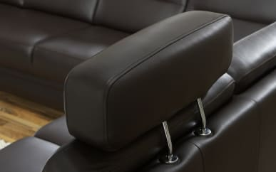 Sessel Kopfstütze in marrone