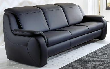 Sofa 3-sitzig Modell Cammeo in dunkelblau