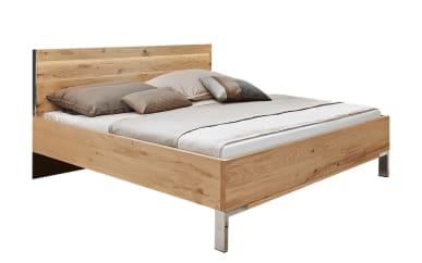Luxus-Doppelbett Utah in Eiche Furnier/sand