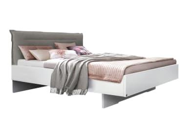 Komfortbett Joelle in weiß/light grey
