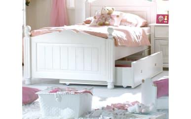 Bett Cinderella Premium in weiß