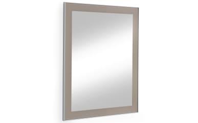 Spiegel Santina in taupe, 60 x 77 cm
