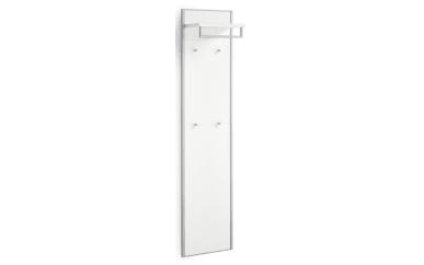 Garderobenpaneel Limana in Lack weiß
