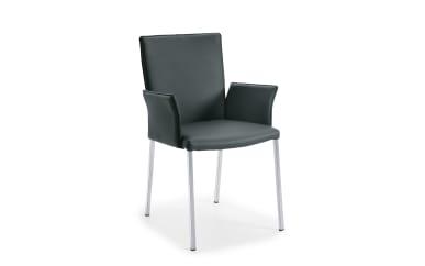 Armlehnen-Stuhl WK 701 in anthrazit