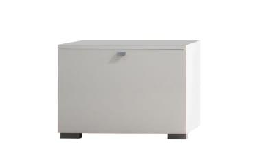 Garderobenbank Una in weiß