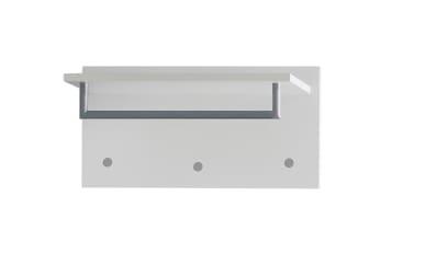 Garderobenboard Una in weiß