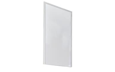 Spiegel Gloss in weiß, 59 x 112 cm