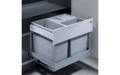 Abfalltrennsystem Hailo Z42 3 Eimer, 29 Liter gesamt