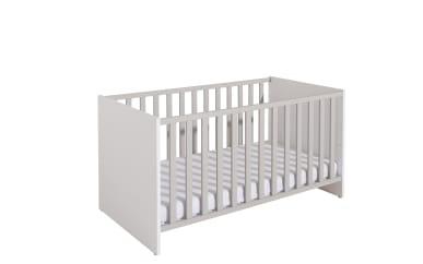 Kinderbett Nils in kreideweiß