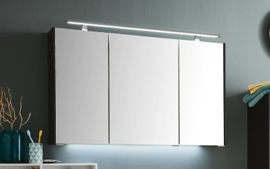 Spiegelschrank d.Light in Cosmos grey Matt