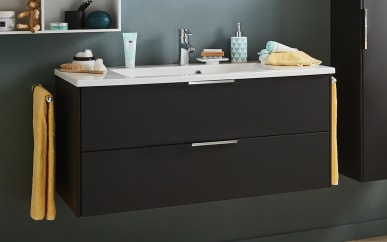 Waschtisch-Unterschrank-Set d.Light in Cosmos grey Matt