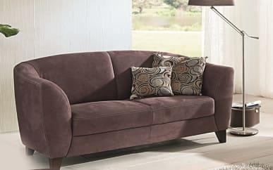 Sofa 2,5-sitzig Venezia in braun