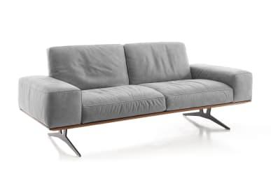 Sofa 2,5-Sitzer in colorado, mit Holzrahmen