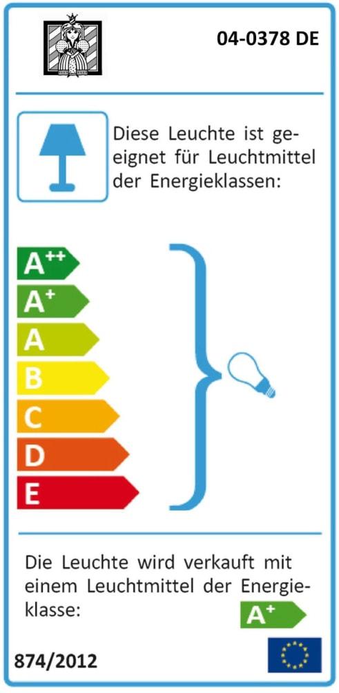 Energieeffizienz: Nachtkonsole Lancy in grau meliert
