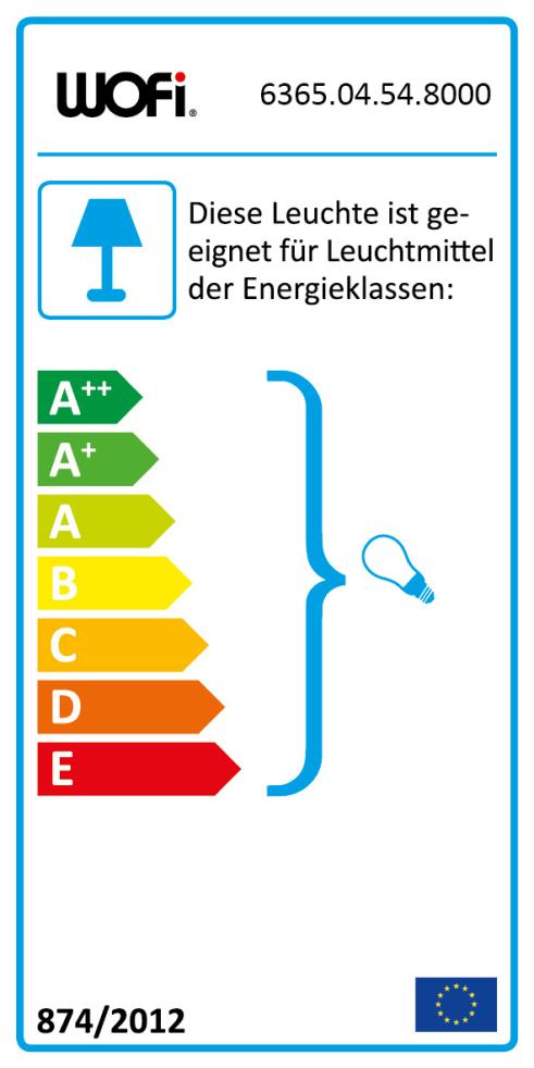 Energieeffizienz: Pendelleuchte Sara in nickel matt/chrom