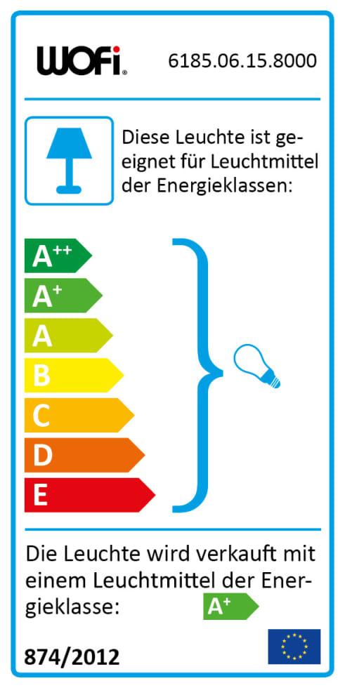 Energieeffizienz: Pendelleuchte Dina in goldfarbig