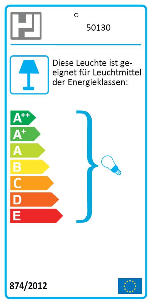 Energieeffizienz: Tischleuchte Regi in schwarz, 34 cm